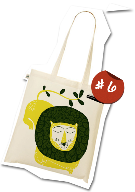 The GuteJute tote bag design #6