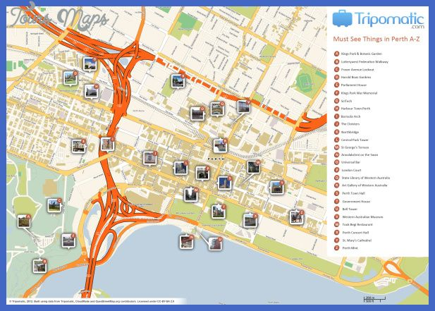 awesome Melbourne Map Tourist Attractions Tours Maps Pinterest