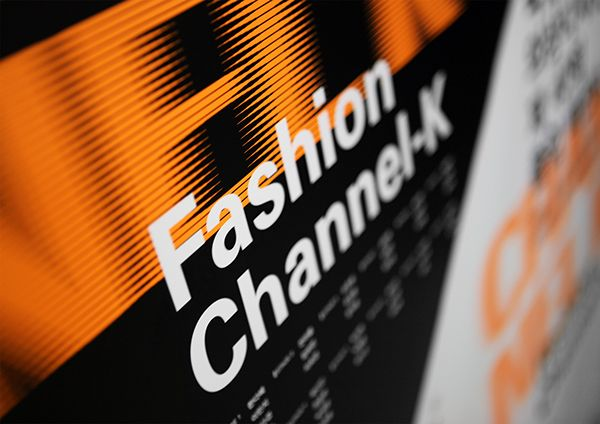 Changeable type for Fashion Channel-K on Branding Served