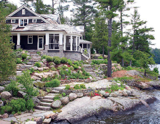 Summer Camp More Muskoka Cottages And The Giveaway Continues Talk Of The House Destinations Pinterest Lakeside Cottage House And Lakes