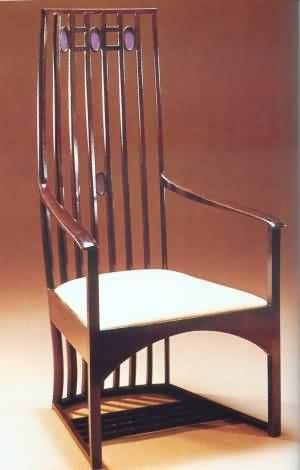Art Nouveau Style Furniture Charles Rennie Mckintosh