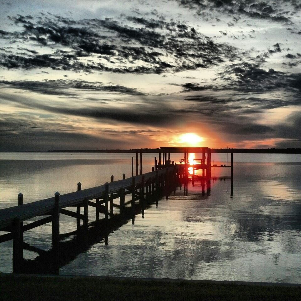 Vacation In Perdido Key Fl: Perdido Bay Sunset Perdido Key, Florida Photo Credit