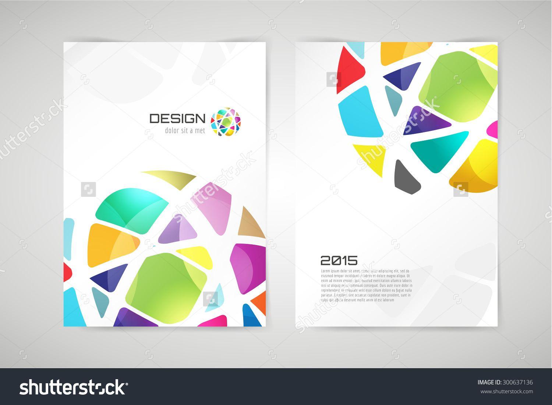 Vector Globe Brochure Template    Shutterstock