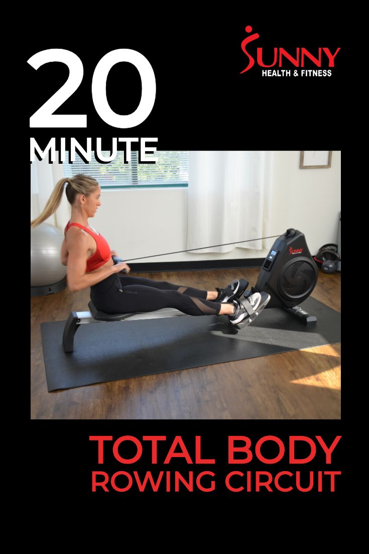 20 minute total body power rowing circuit rowing workout