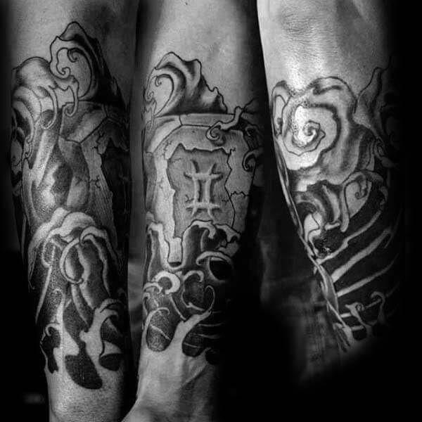60324fdb1 Gemini Tattoos for Men | Spiritual Tattoos for Men | Tattoos ...