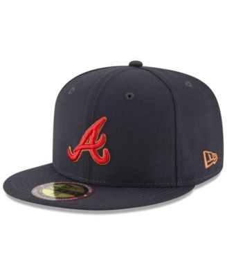 best service 26bcd 772f5 New Era Atlanta Braves Ultimate Patch Collection 125th Anniversary 59FIFTY  Fitted Cap - Blue 7 3 8