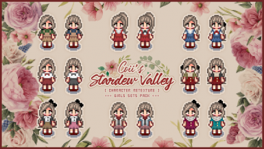Replaces To Farmer S Hairstyles Shirts And Skirt In 2020 Stardew Valley Stardew Valley Layout Pixel Art