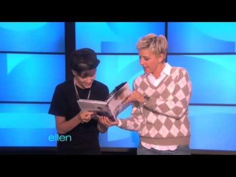 Justin Bieber surprises Ellen! | Books, Movies, and Celebrities