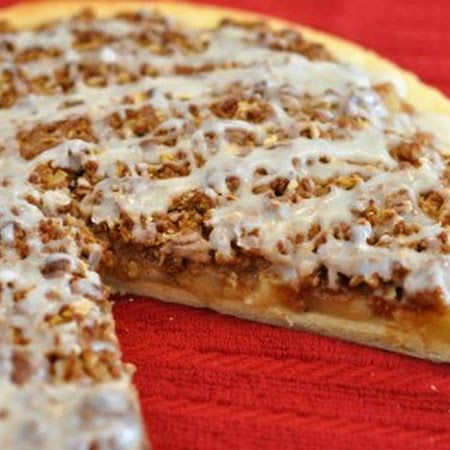 Apple Doozie (Dessert Pizza) Recipe (4.4/5) Recipe