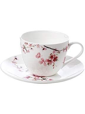 Linea Blossom Tea Cup And Saucer House Of Fraser Tea Cups Tea