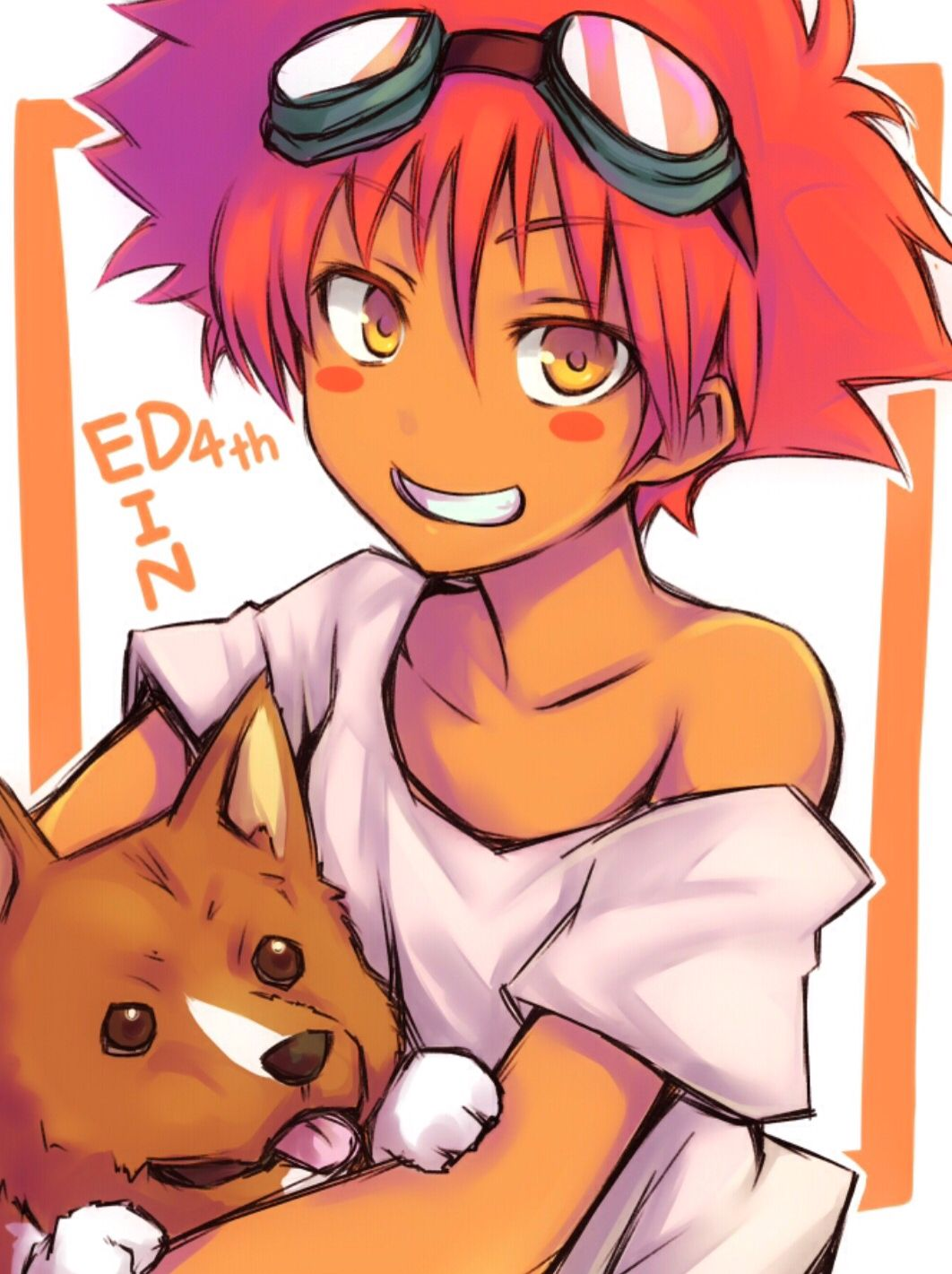 Cowboy Bebop Edward and Ein