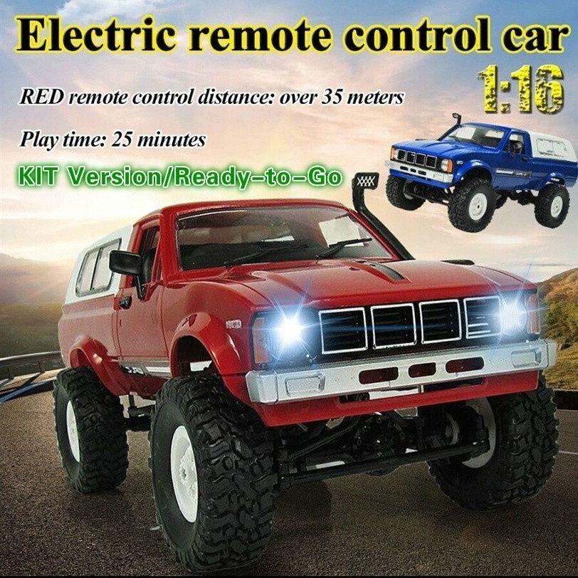 WPL C24 2.4G RC Crawler Offroad Car Buggy Moving Machine