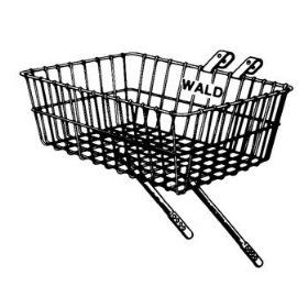 Wald 137 Front Bicycle Basket  Gloss Black