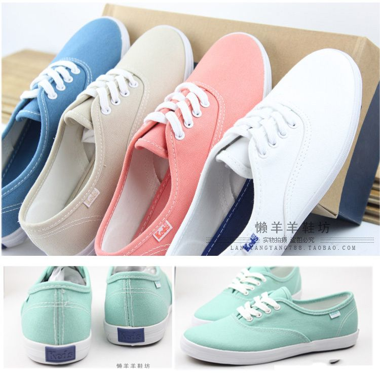 2014 Spring Women Keds Candy Colors Classic Canvas Shoes Women's Sneakers Mint Green 1026,68 руб.