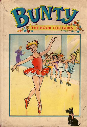 Bunty Book for Girls - I still have this (in the loft, I think)