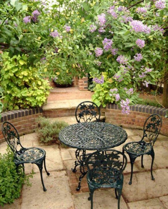 57 Amazing Beautiful Garden Ideas Inspiration And: Cottage Garden, Garden Seating Area, Small