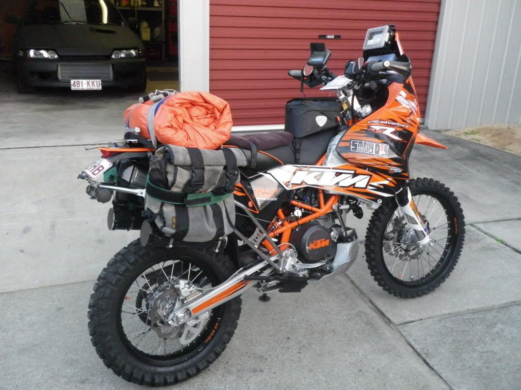 KTM690 Rally Raid Build - Adventure Rider Magazine Community