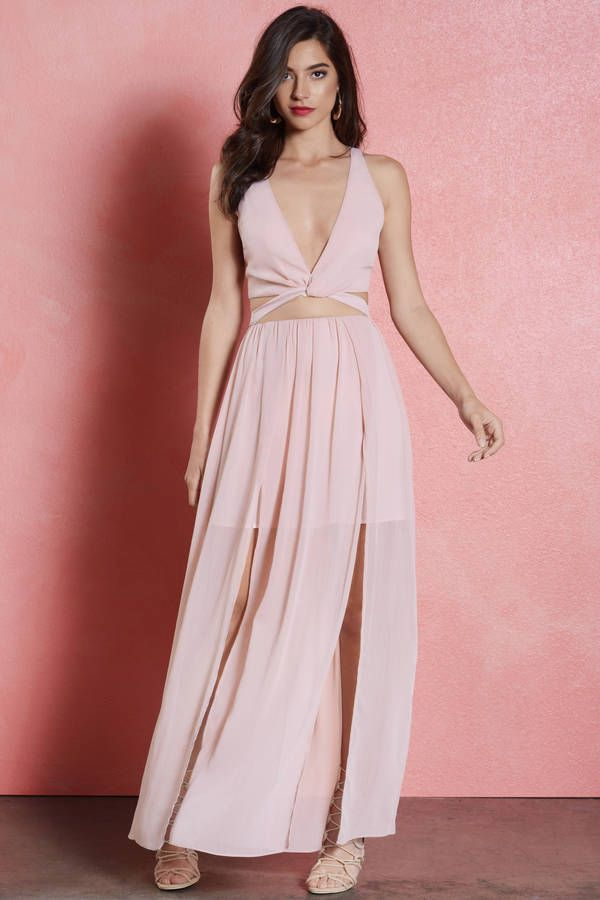 Love Song High Slit Maxi Dress at Tobi.com #shoptobi | prom | Pinterest