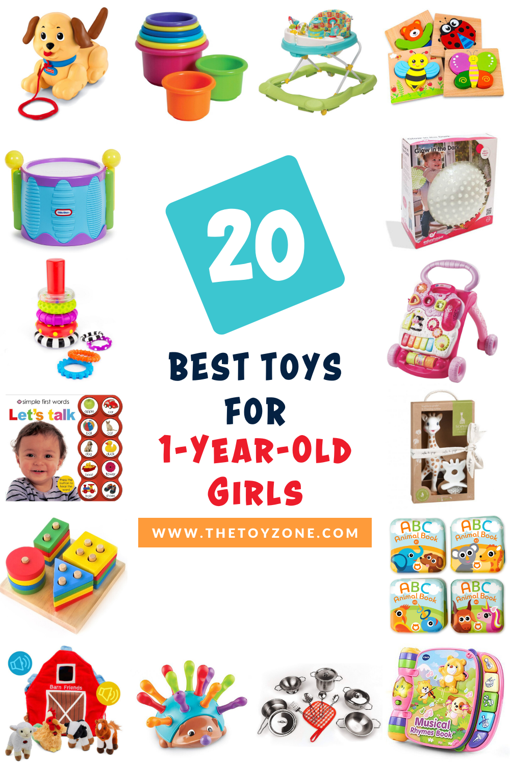20 Best Toys for 1-Year-Old Girls in 2020 - TheToyZone in ...