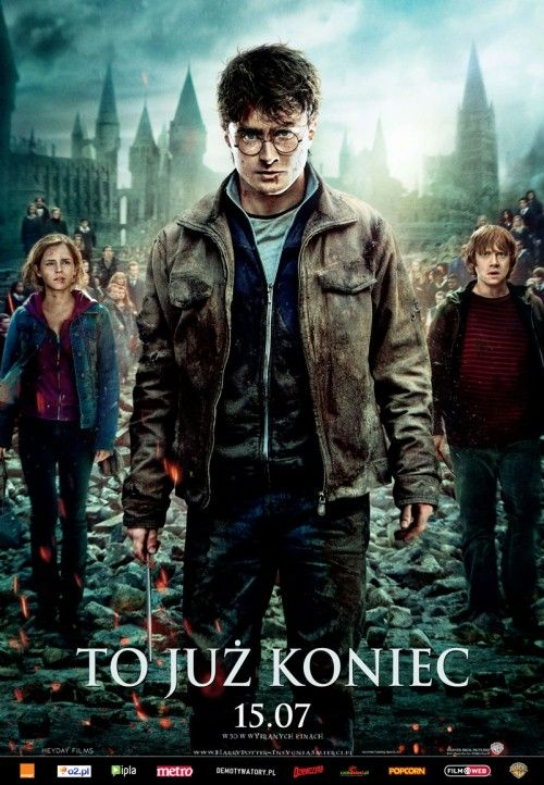 Harry Potter I Insygnia Smierci Czesc Ii Harry Potter And The Deathly Hallows Part 2 Deathly Hallows Part 2 Harry Potter Poster Harry Potter Movies