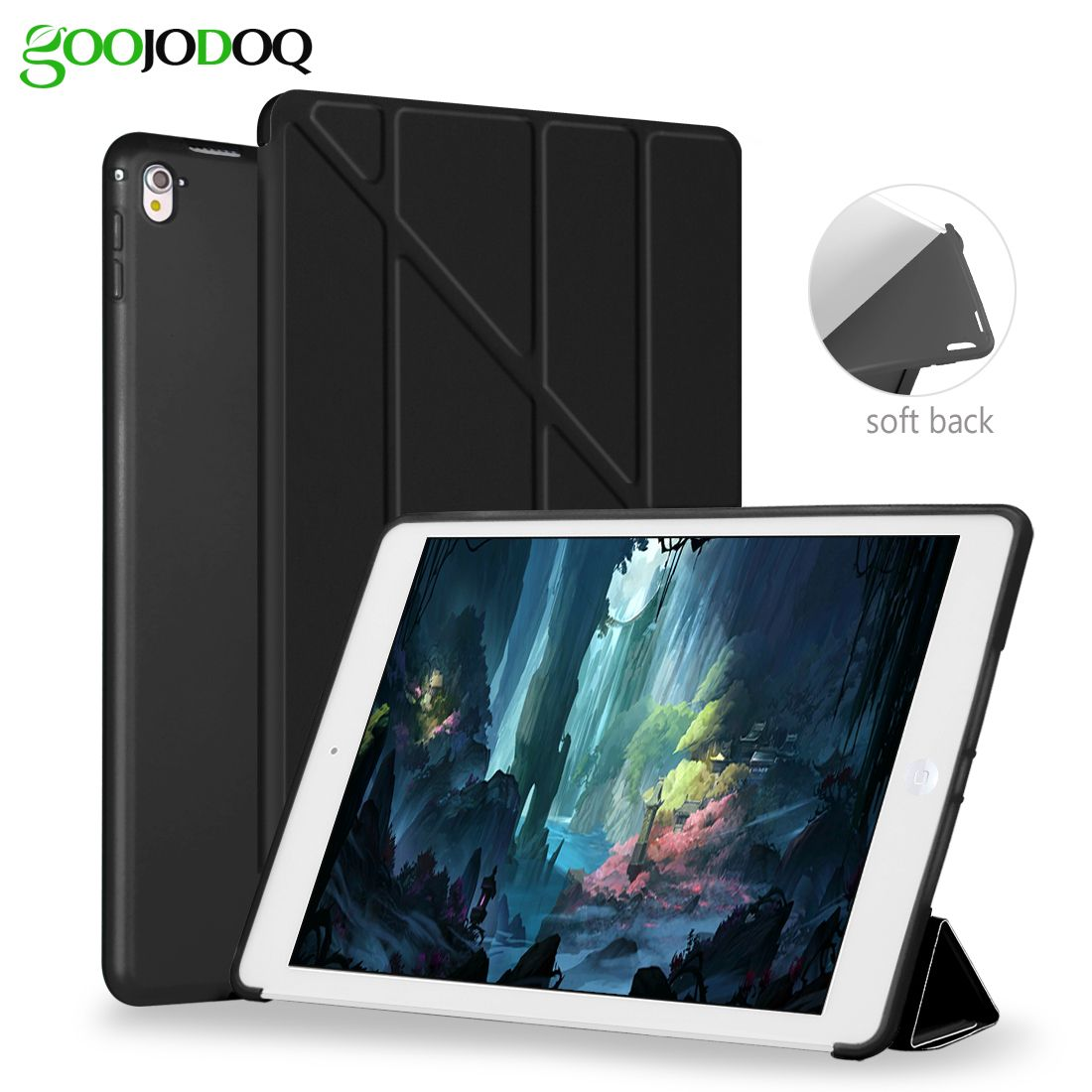 For Ipad Pro 10 5 Casetransformers Ultra Slim Pu Leathersilicone Soft Back Smart Cover Case Coque For Ipad Pro 10 5 Inch A1701 Ipad Cover Ipad Pro Ipad