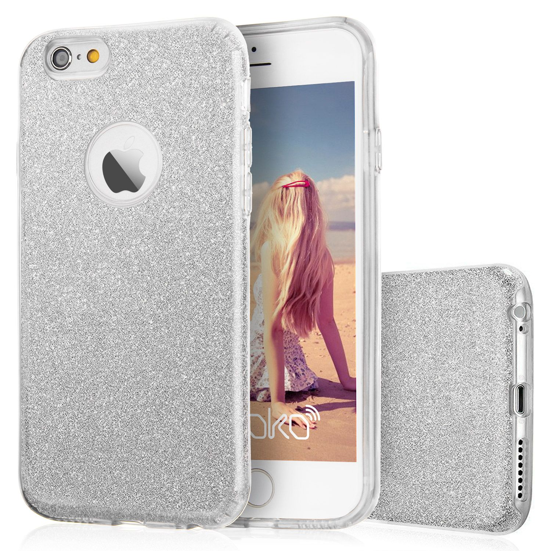 Iphone 6 6s Plus Hulle 4 7 Zoll Imikoko Glitzer Schutzhulle Weiche Tpu Abdeckung Glitzer Papier Pp Iphone Iphone 6s Case Phone Case Cover