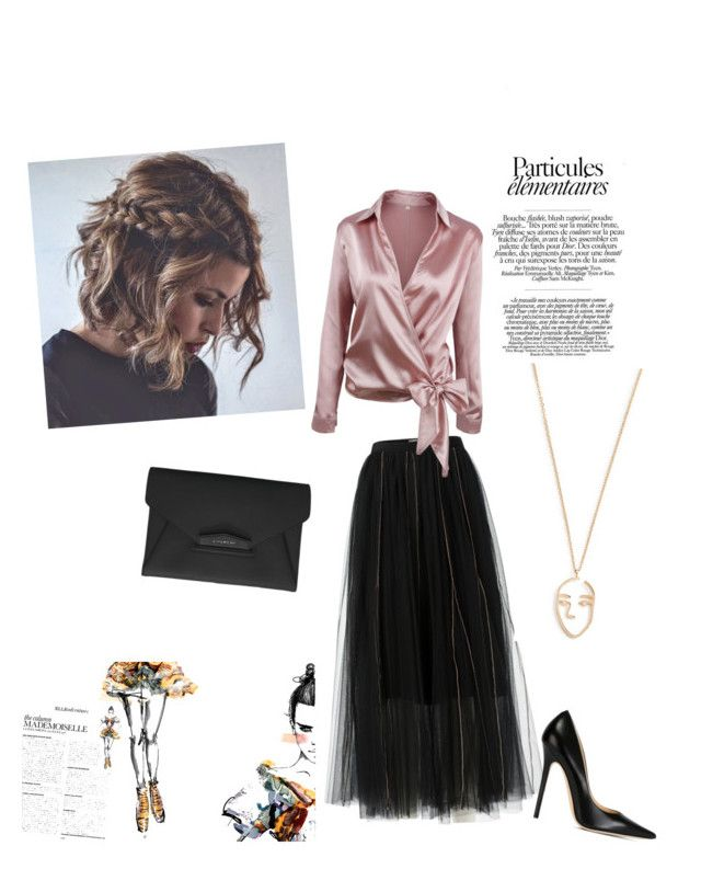 """Untitled #273"" by silvija-fox ❤ liked on Polyvore featuring Dorothee Schumacher, Jimmy Choo, Givenchy and Amber Sceats"