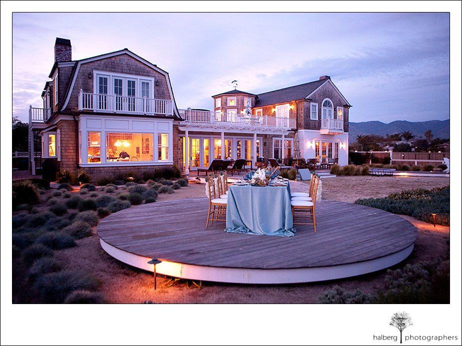 Photo Of Santa Barbara Beach Club Wedding Venue Table Design