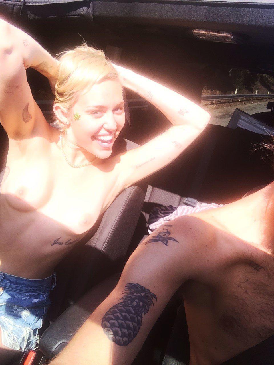 Miley upskirt snap