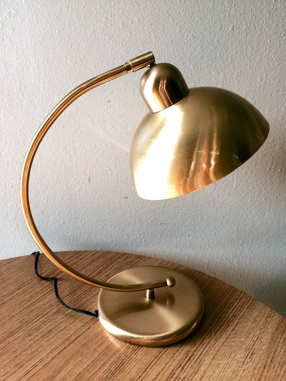 RESERVED FOR ALANA Classic Bauhaus Style Vintage Desk Lamp