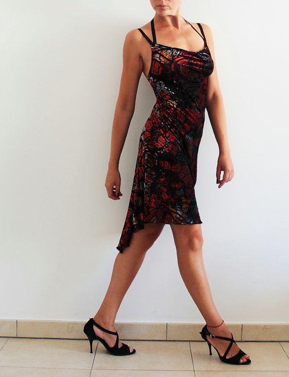 Vestito nero tango embrace