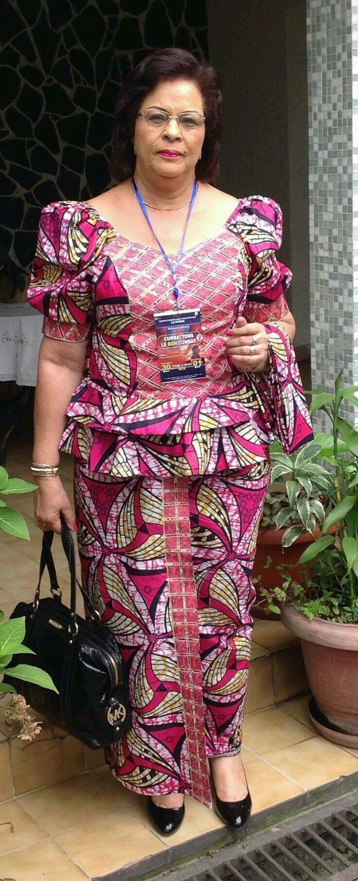 Épinglé par jolie sur 1   Mode africaine, Mode africaine robe, Tenue africaine