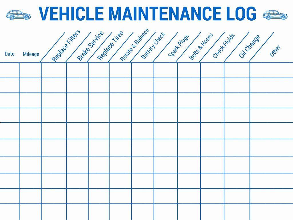 Fleet Vehicle Maintenance Log Template Unique Vehicle Maintenance Log Vehicle Maintenance Log Preventive Maintenance Car Maintenance