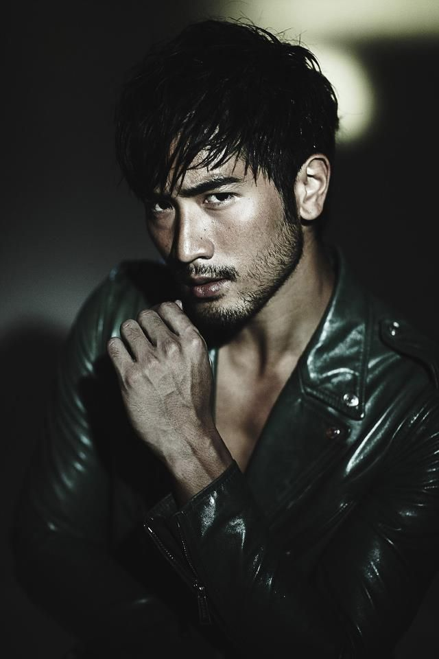 godfrey gao pinterest