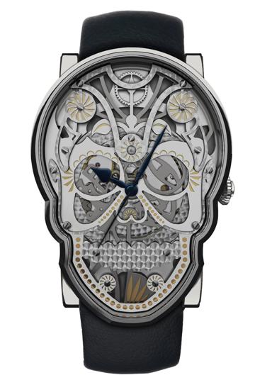 Fiona Krüger's #Skull watch