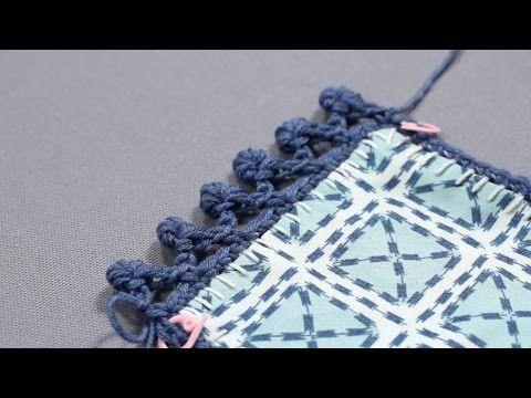 Crochet Border Tutorial How To Crochet A Bullion Coil Dantel Ve