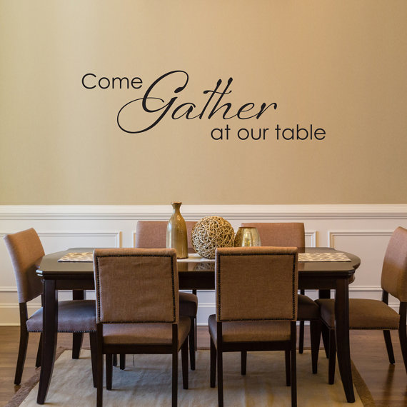 Dining Room Decals