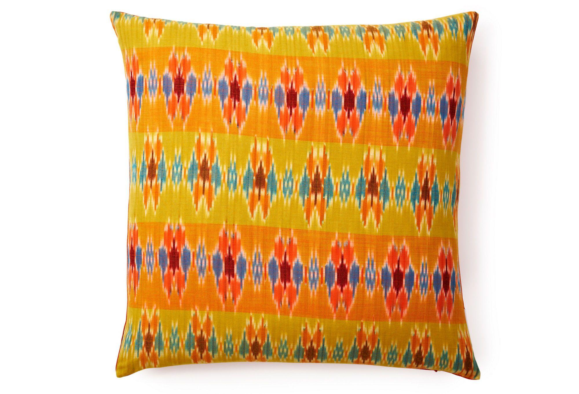 One kings lane divine designs hannah x pillow mustard