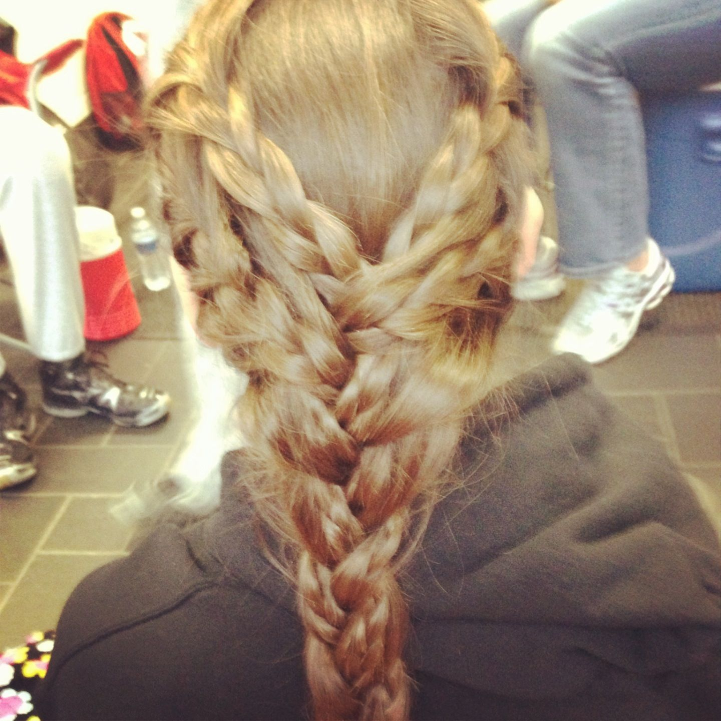 My game day hair thank you emmi volleyball pinterest gaming