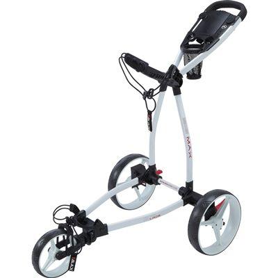 Big Max 3 Wheel Golf Push Cart Blade Ip Golf Push Cart Golf Trolley Golf Club Grips