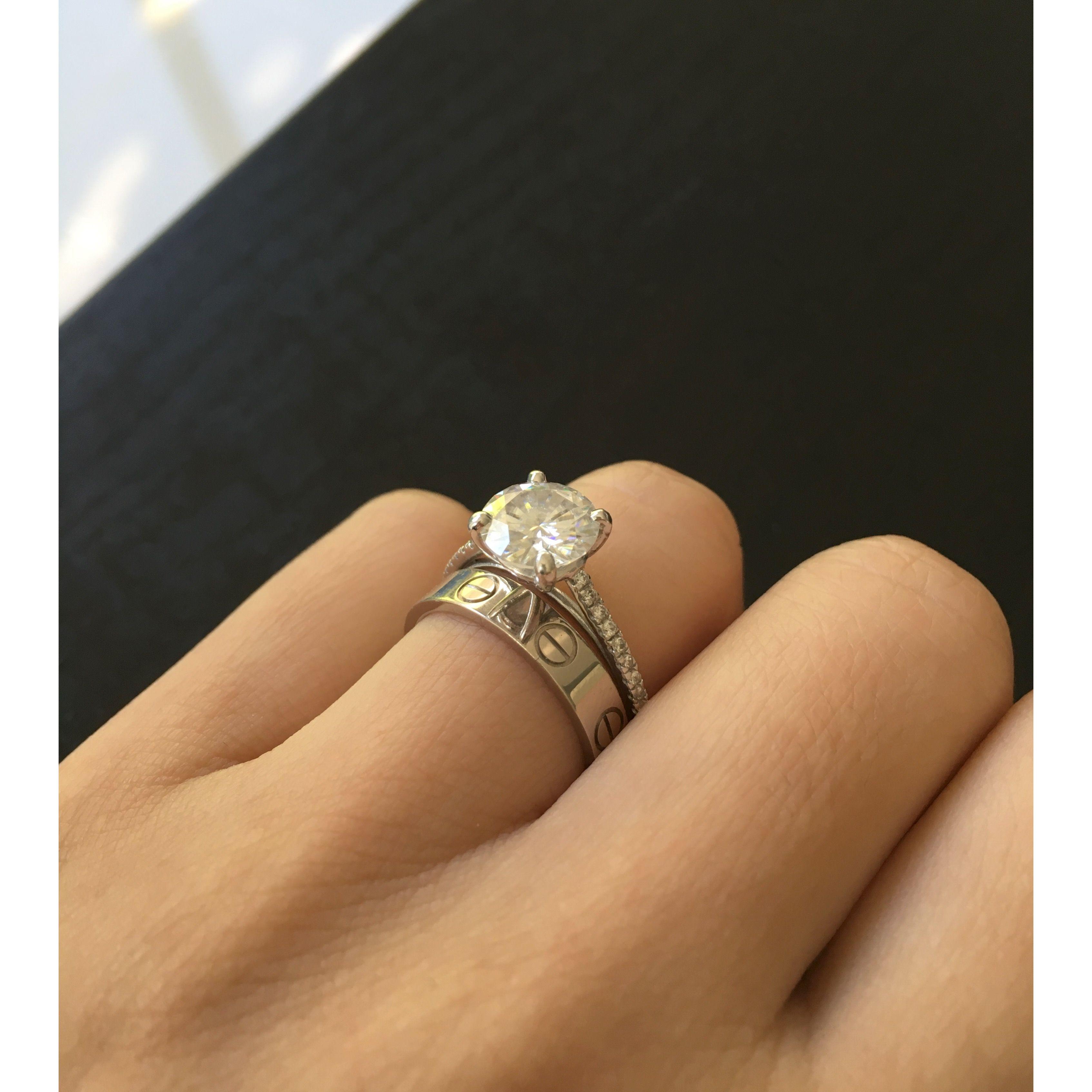 Cartier Love Wedding Ring | Wedding Ideas | Cartier ...