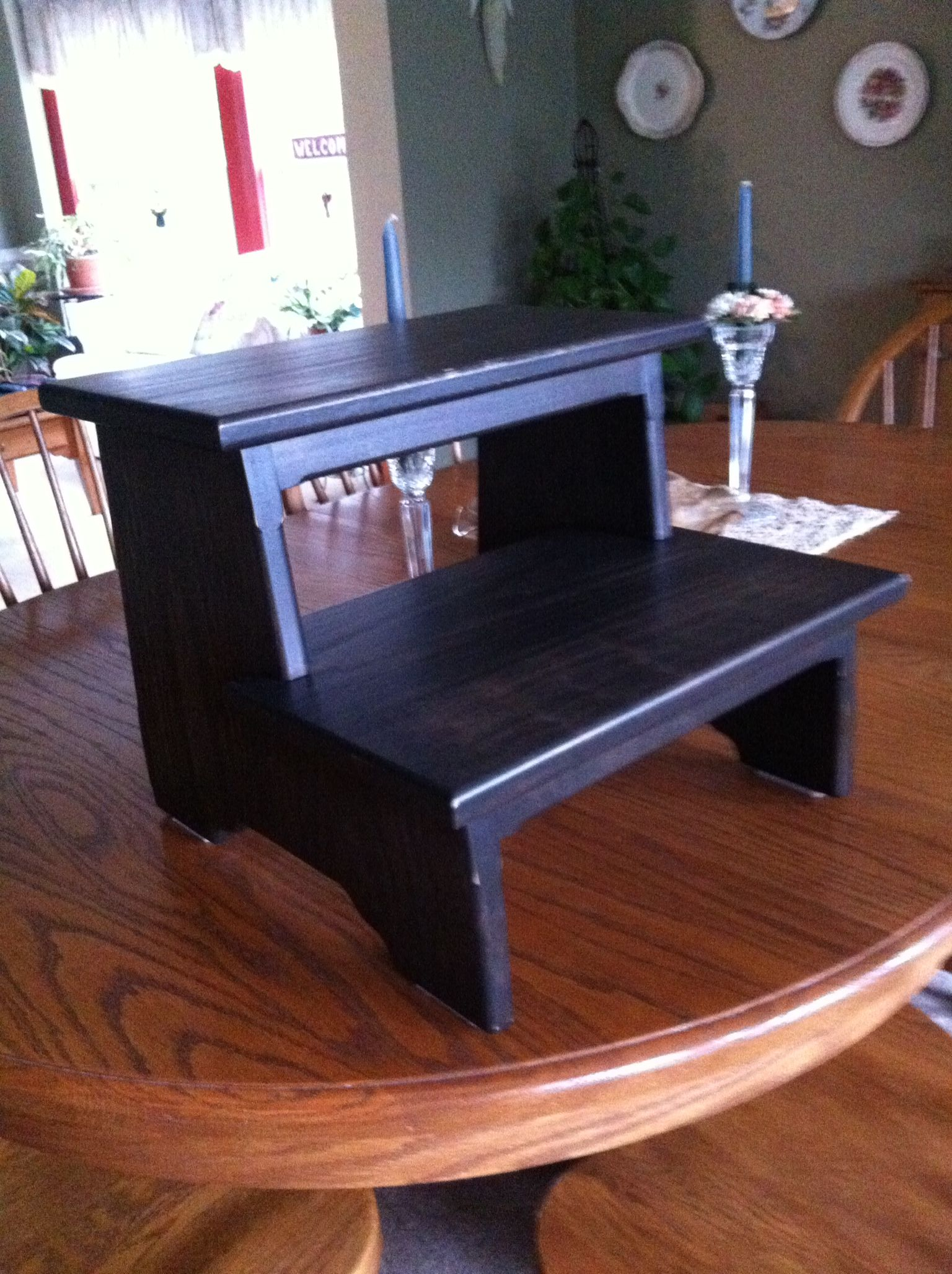 Wooden Step Stool Bedside: Pin By Robert Delesantro On My Creations