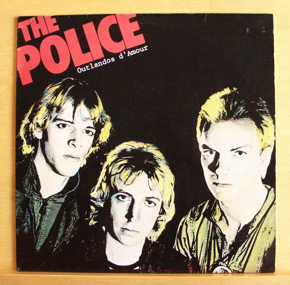 THE POLICE Outlandos d`Amour - Vinyl LP So lonely Roxanne Can´t stand losing you