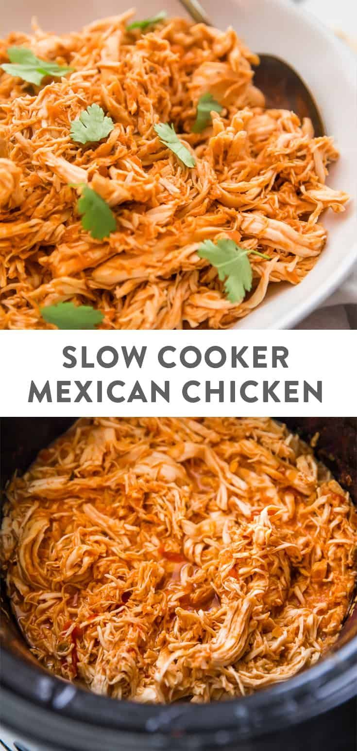 Slow Cooker Mexican Shredded Chicken images