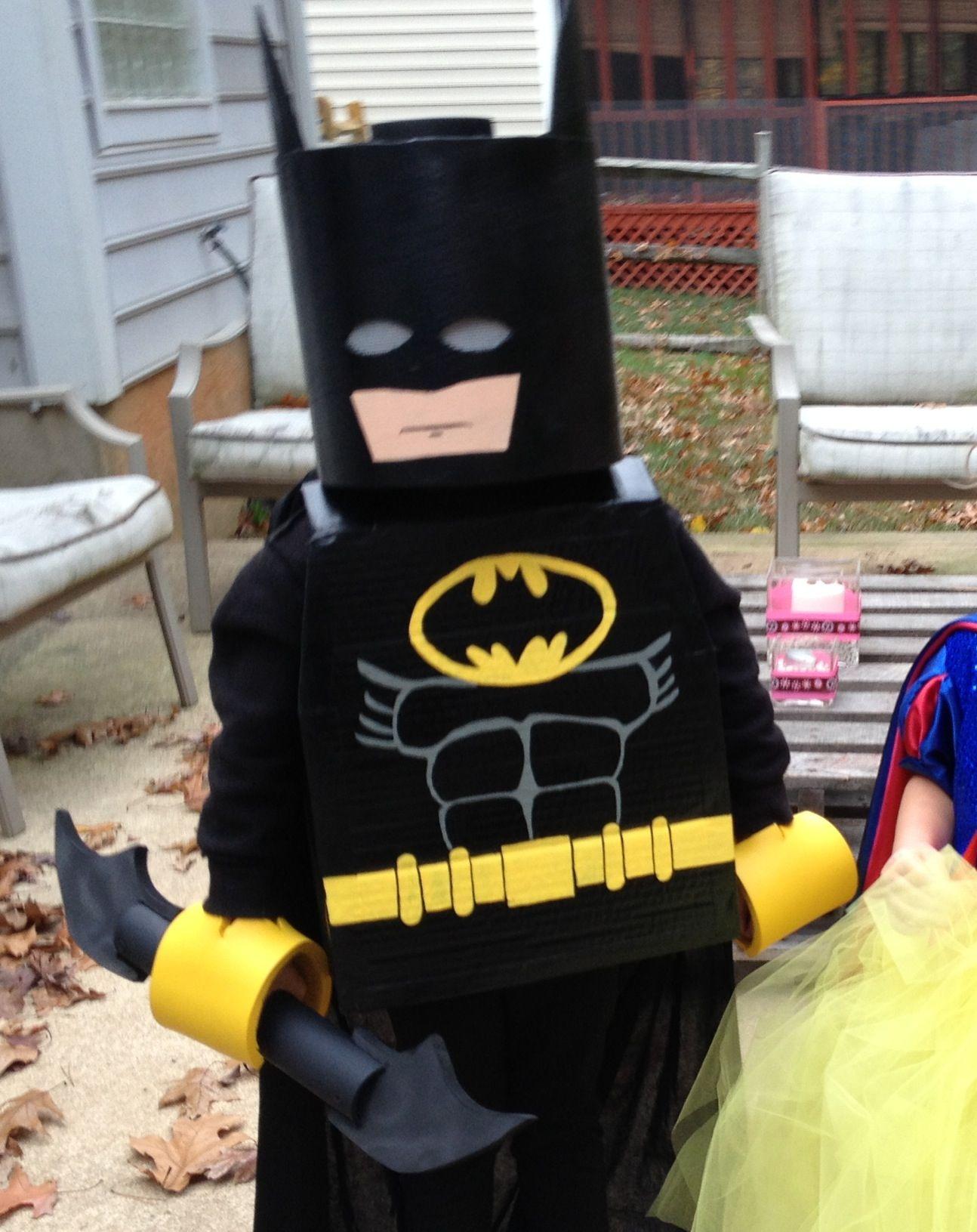Lego Batman Homemade halloween costumes, Lego costume