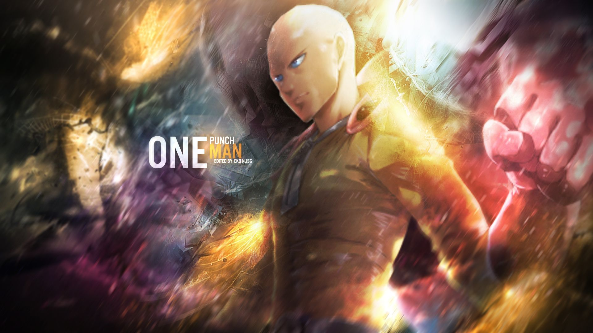 one punch man wallpaper 1080p Buscar con Google Anime