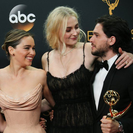 Celebrities With Kit Harington at the 2016 Emmys | Kit ...