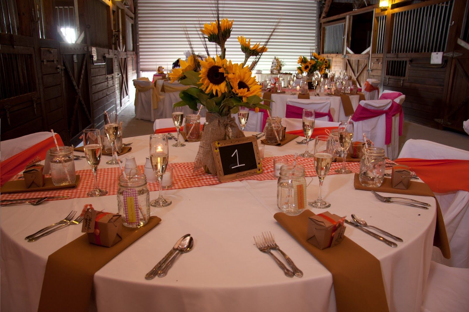 Wedding dinner decoration ideas  Fall Rehearsal Dinner Centerpieces  centerpieces and the family