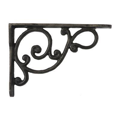 CAST IRON CORNER CASTING DECORATIVE ELEMENT
