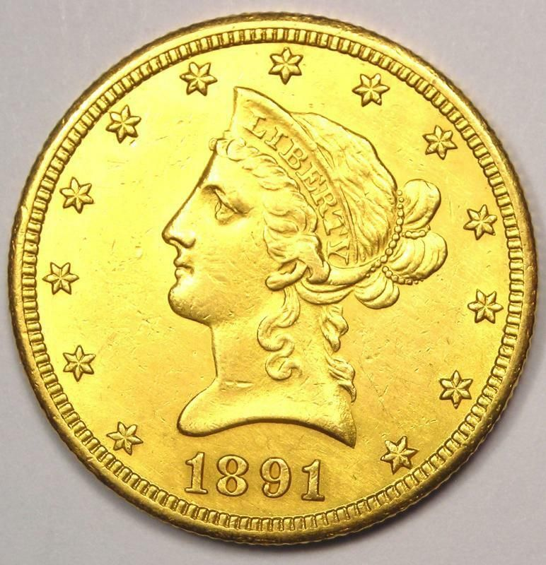1891 Cc Liberty Gold Eagle 10 Coin Excellent Condition Nice Luster Afflink Contains Affiliate Links When You Click On Gold Piece Gold Eagle Eagle Coin
